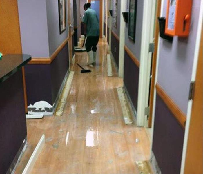 Storm Damage – Conover Medical Building Before