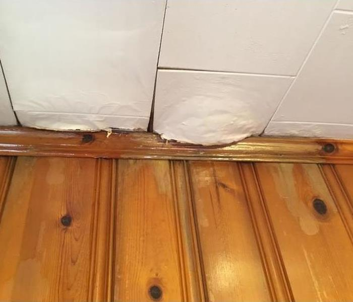 Roof Leak in Conover, NC Before