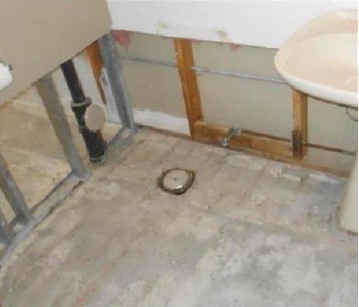 Water Damage – Newton Bathroom