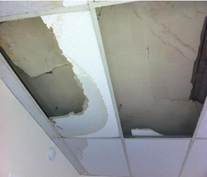Catawba Storm Damaged Office Ceiling