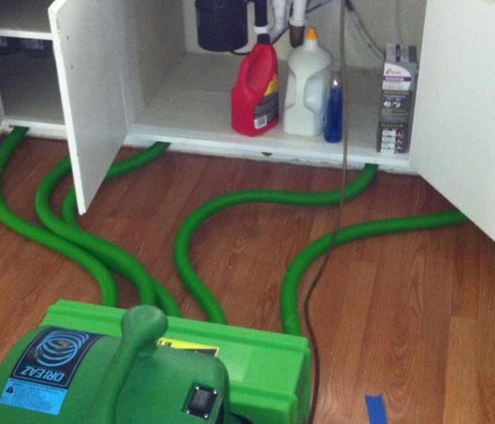Water Damage – Newton Hi-Tech Drying Procedure