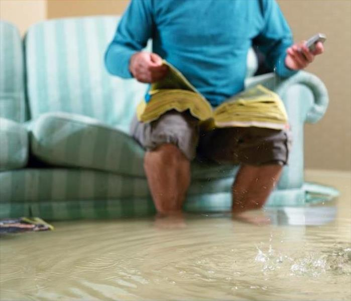 Storm Damage When Newton Homes Take Flood Damage in a Hurricane, SERVPRO Helps Them Recover